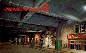 Underground Atlanta Atlanta GA Unused