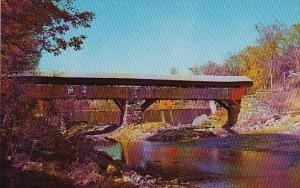 Typical Vermont Covered Bridge Rutland Vermont