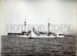 3058331 Danish cruiser Valkyrien Vintage large real photo