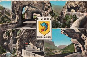 France Les Vercors tunnels Grands Goulets French Alps mountains