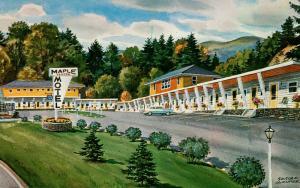 VT - St Johnsbury. Maple Center Motel