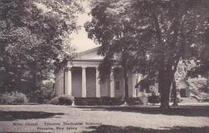 New Jersey Princeton Miller Chapel Princeton Theological Seminary Albertype