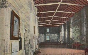 SAN ANTONIO , Texas , 1900-10s; Interior of Alamo