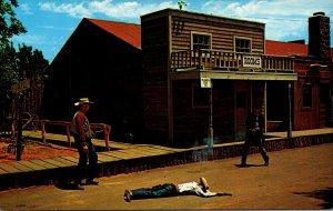 Oklahoma Oklahoma City Frontier City Dalton Gang Shootout