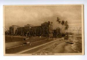133021 CEYLON COLOMBO Galle Face Hotel Vintage postcard