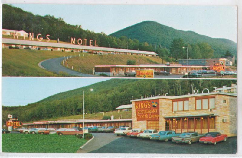 Kings Motel Restaurant Williamsport Pa Hippostcard