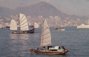 CHINA (Hong Kong) , 50-60s ; Harbor