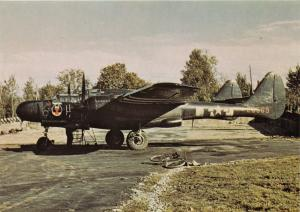NORTHROP P-61 BLACK WIDOW~TABITHA #25569 FIGHTER~IX AIR FORCE AIRCRAFT POSTCARD