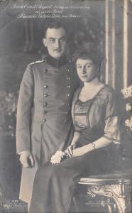 Royalty~Prinz Ernst August~Duke Brunswick~Victoria Louise of Prussia~1913 RPPC