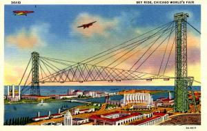 IL - Chicago. World's Fair, 1933. Sky Ride