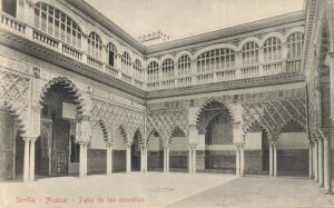 Spain - Sevilla Alcazar Patio de las doncellas Seville 02.13