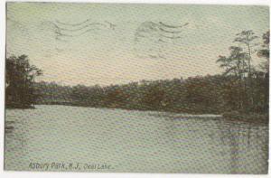 Deal Lake Asbury Park NJ 1914