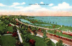 Wisconsin Milwaukee View Of Juneau Park