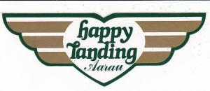 AARAU SWISS TOURISM HAPPY LANDING AVIATION LABEL