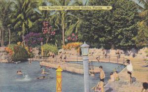 Venetian Pool At Coral Gables Florida