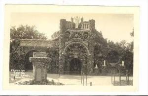 RP: Front of Grotto, West Bend, Iowa, 20-30s
