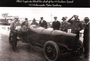 IN - Indianapolis Motor Speedway. Albert Guyot, #9 Sunbeam Special  (5.75 ...