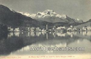 Piz Della Margna Swizerland, Schweiz, Svizzera, Suisse St Mortiz Bad Piz Dell...