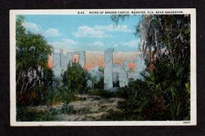FL Ruins Braden Castle MANATEE FLORIDA nr BRADENTON
