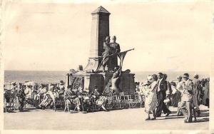 Belgium Blankenberge, De Bruyne and Lippens Monument Statues Promenade