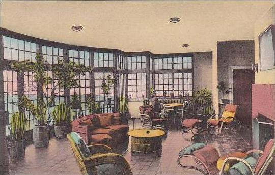 Virginia Luray Solarium At The Mimslyn Hotel Of Distinction Near Shenandoah N...