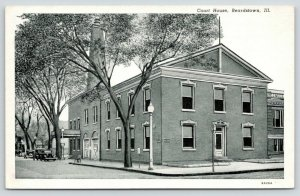 Beardstown IL~Cass Co Courthouse~Lincoln Murder Trial~Duff Armstrong~1936 B&W