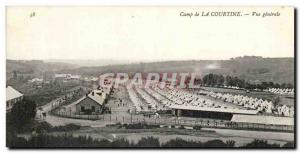 Creuse Postcard Old Camp of Courtine General view