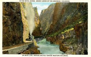 CO - Royal Gorge. Train