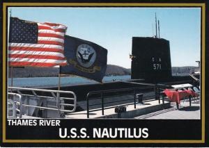Connecticut Groton U S S Nautilus THames River Submarine Force Library & ...
