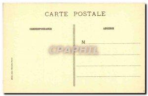 Old Postcard Chateau Paris Louvre palace of Xerxes