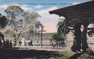 California Camp San Luis Obispo The Shrine Of The Centurion