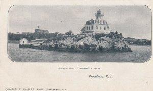PROVIDENCE, Rhode Island, 1901-07 ; Pomham LIGHTHOUSE
