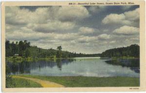 Linen of Lake Itasca, Itasca State Park Minnesota MN 1948