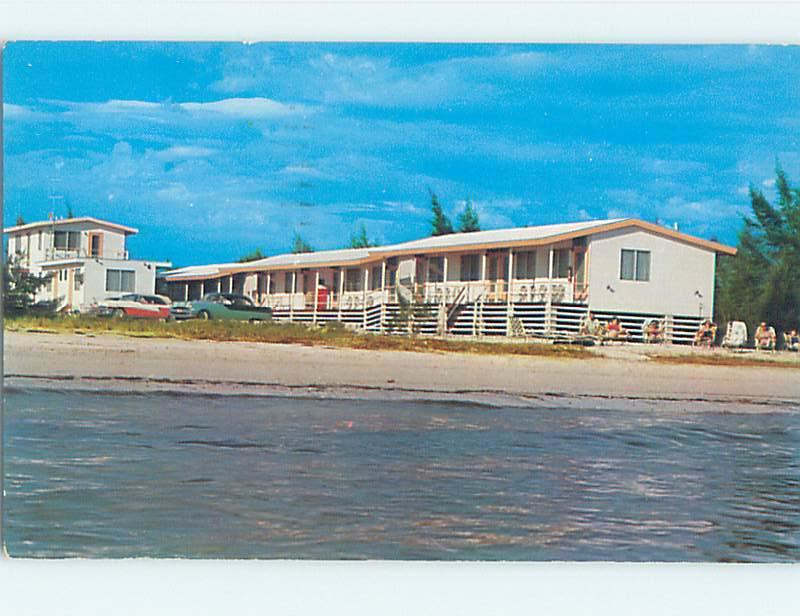 Pre-1980 OLD CARS & SAND PATCH MOTEL Ft. Fort Myers Florida FL j6274