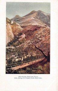 LP24  Colorado Postcard Cripple Creek Short Line
