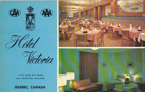 Canada Restaurant and Cocktail Lounge Hotel Victoria Quebec