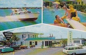 Florida Treasure Island Drake Court With Pool 1961