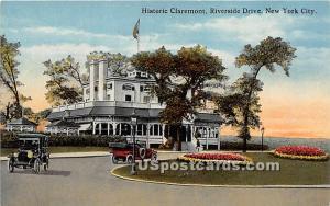 Historic Claremont New York City NY Unused