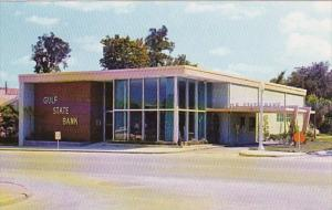Florida New Port Richie Gulf State Bank West Main Street Business Section