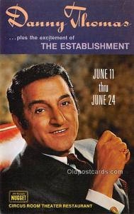 Danny Thomas Movie Star Actor Actress Film Star Postcard, Old Vintage Antique...