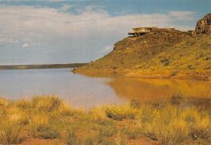 Namibia Restaurant Hardap Damm SWA Lake Lac Panorama