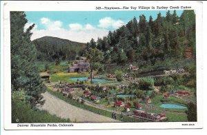 Denver Mountain Parks, CO - Tinytown - Toy Village - 1940s