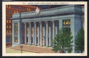 Wilson County Court House at Night,Wilson,NC
