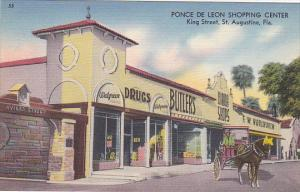 Ponce De Leon Shopping Center Butlers Drug Store And Woolwoorth St Augustine ...