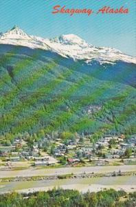 Alaska Skagway Aerial View