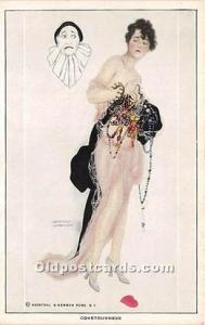Artist Raphael Kirchner Old Vintage Postcard No. 990  Covetousness Reinthal &...