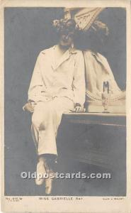 Theater Actor / Actress Old Vintage Antique Postcard Post Card, Postales, Pos...