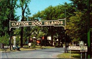 New York Clayton 1000 Islands Entrance Arch