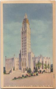 Boston Avenue Methodist Episcopal Church South, Tulsa, Oklahoma, 1938 used