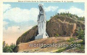 Statue of Notre Dame du Saguenay Tadoussac, PQ Canada Unused